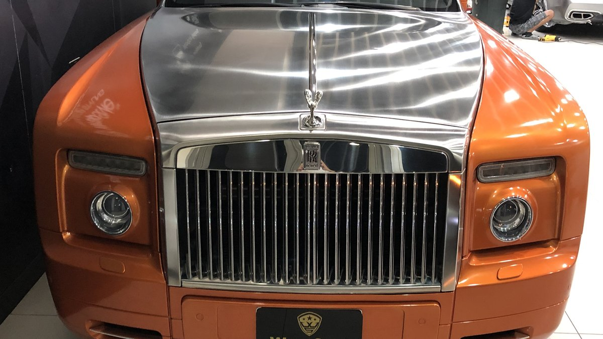 Rolls-Royce Dawn - Orange Stripe wrap - img 2