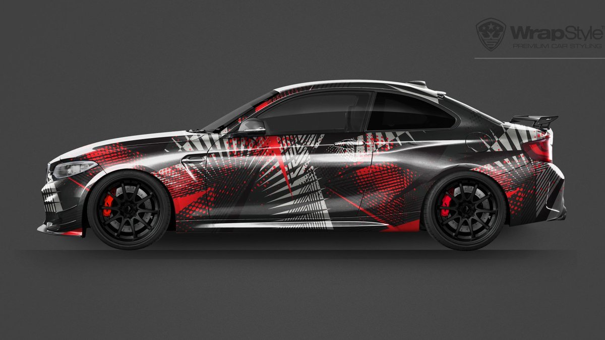 BMW M2 -  Universal Abstract designs - cover