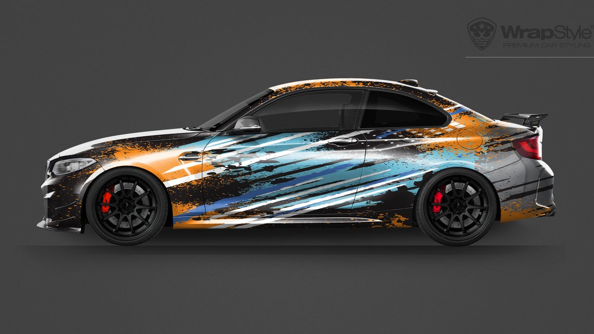 BMW M2 -  Universal Abstract designs - img 1