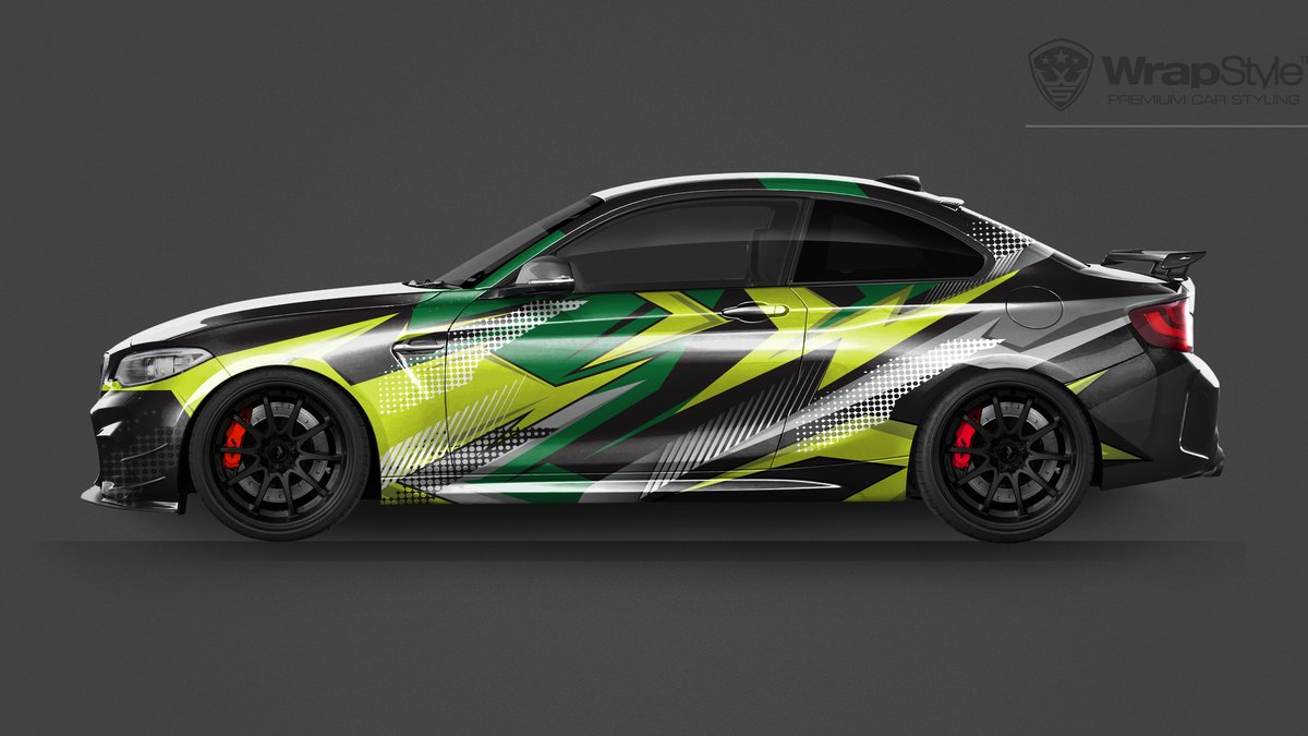 BMW M2 -  Universal Abstract designs - img 2