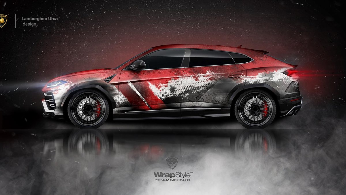 Lamborghini Urus - Bloody Scream design - cover
