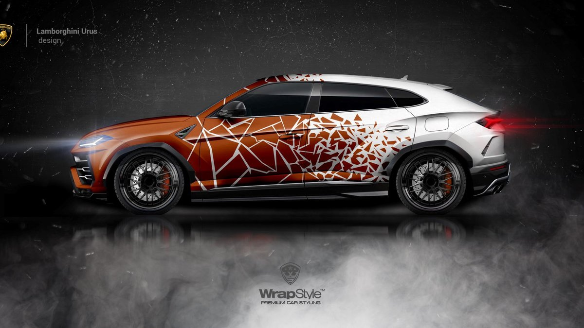 Lamborghini Urus - Fragments design - cover