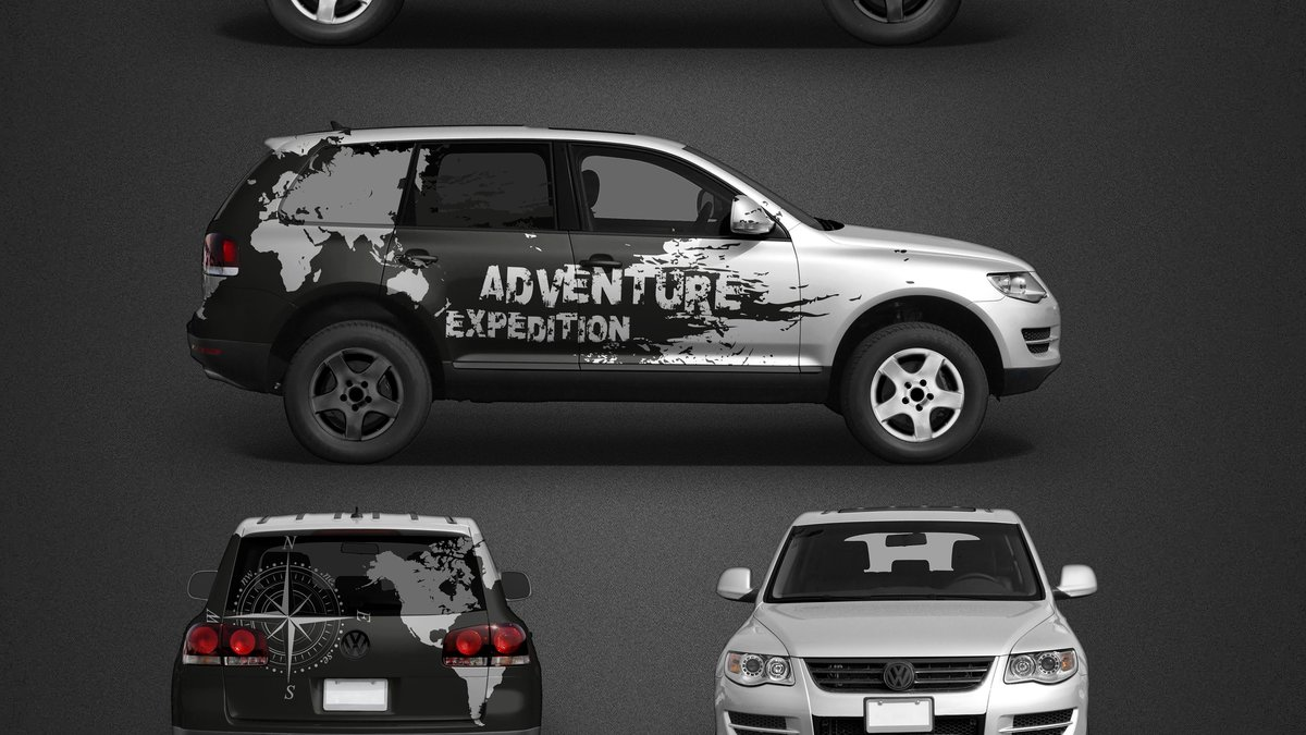 Volkswagen Touareg - Adventure Expedition design - cover