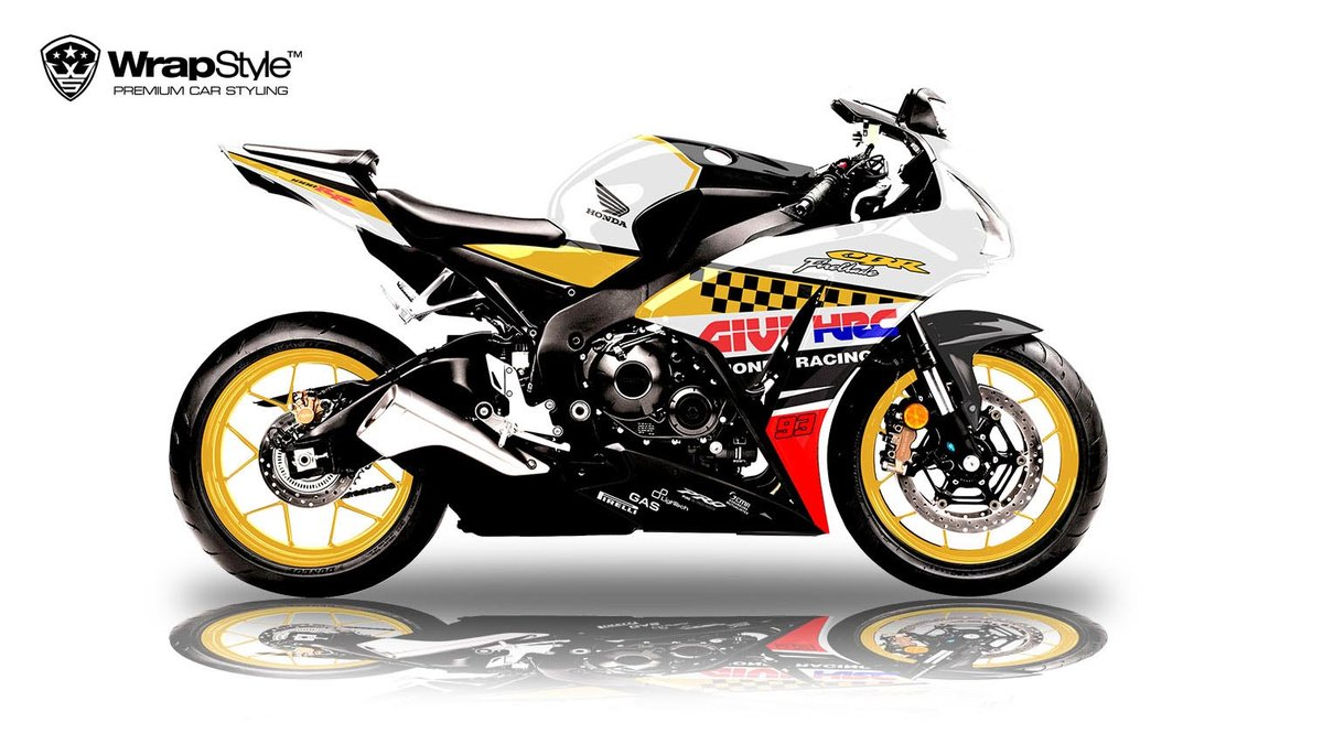 Honda CBR 1000 RR - Racing design - cover