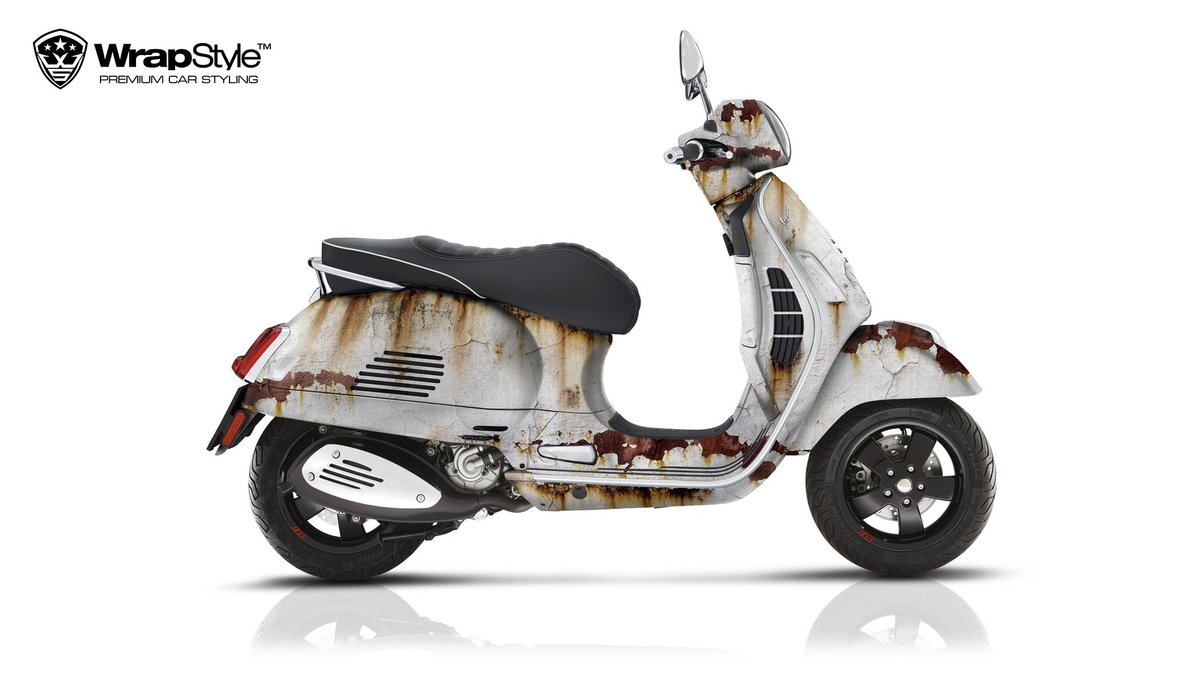 Vespa GTS 300 - Rusty design - cover
