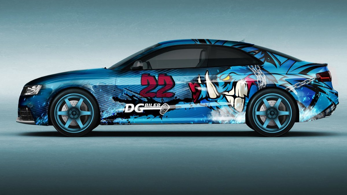 Audi RS5 - Drift Series design - img 1
