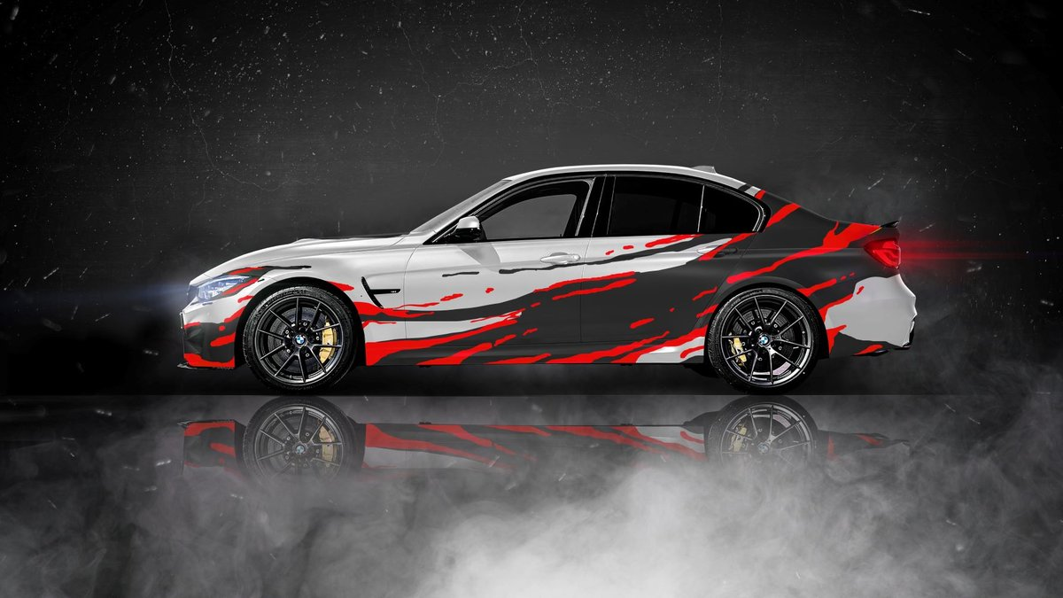 BMW 3 - Splash design - cover