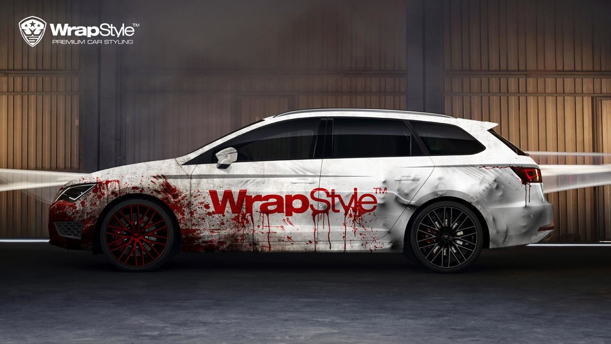 Seat Leon ST Cupra - In The Capture Of The Foil design - cover