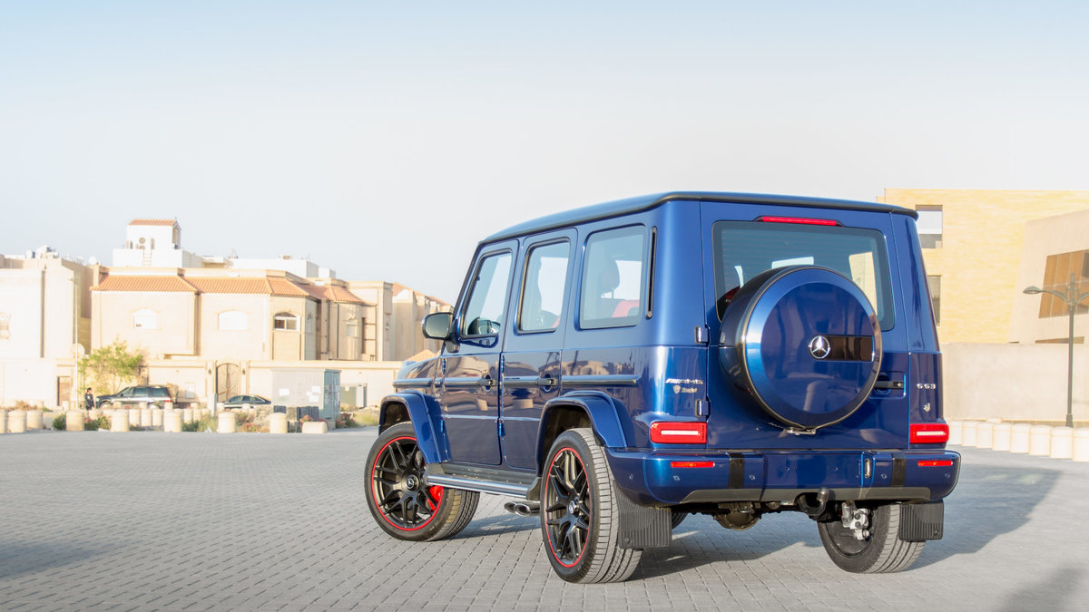 Mercedes G - Blue Gloss wrap - img 3