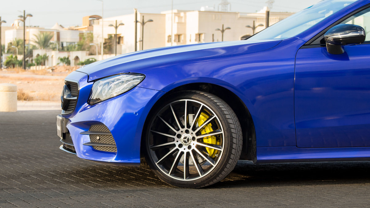 Mercedes S Coupe - Blue Gloss wrap - img 1