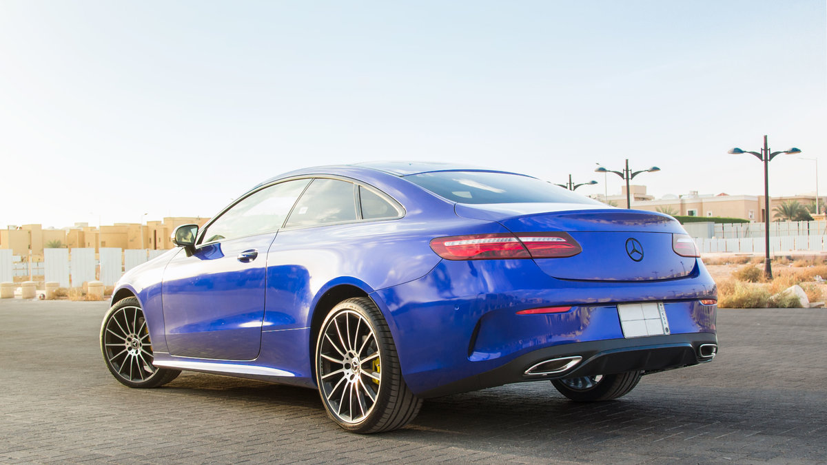 Mercedes S Coupe - Blue Gloss wrap - img 2