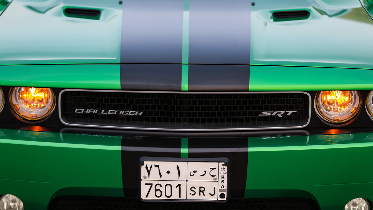 Dodge Challenger - Green Metallic wrap - img 3