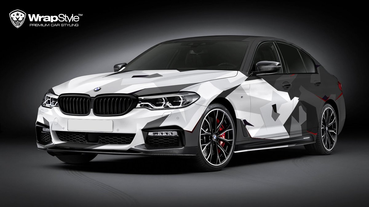 BMW M4 - Camo design - cover