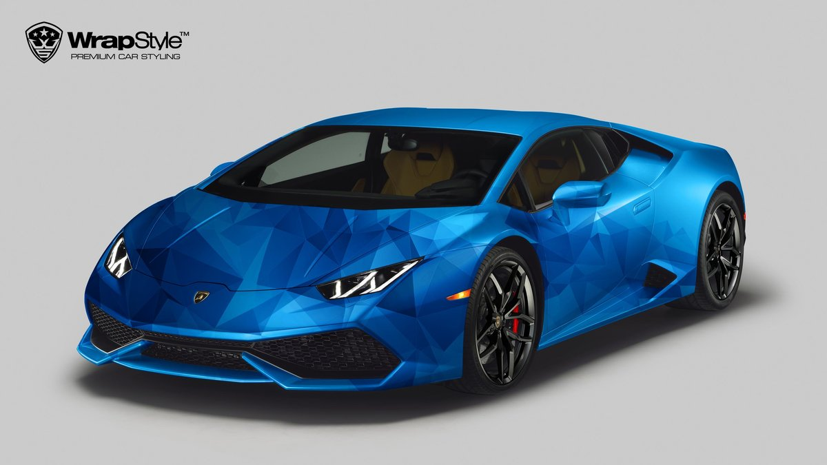 Lamborghini Huracan - Abstraction design - cover