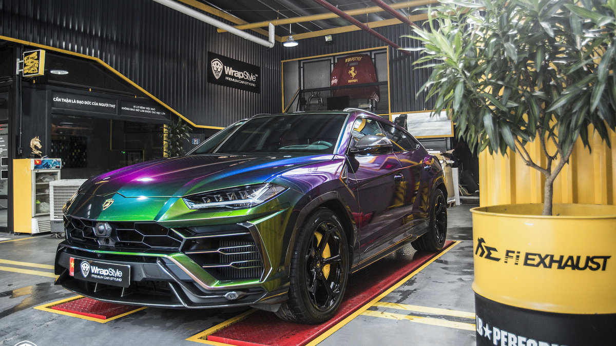 Lamborghini Urus - Color flow - cover