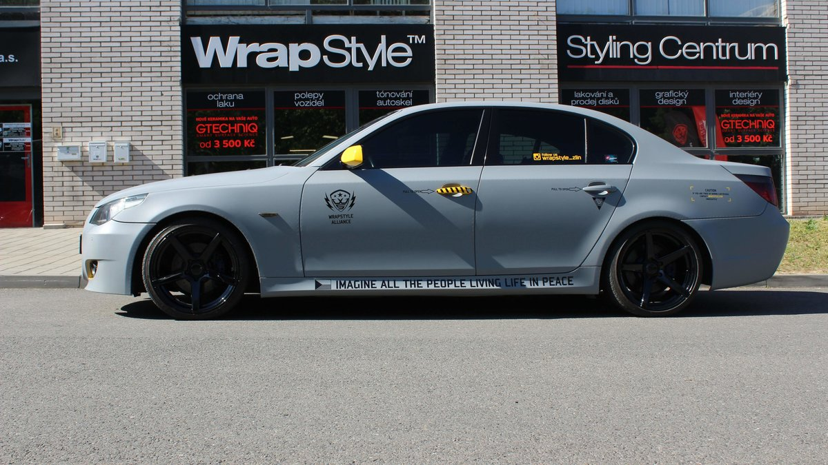 BMW 5 e60 - Jet Design - cover