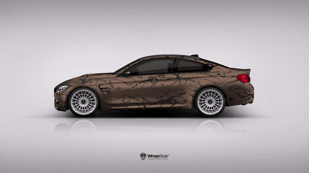 BMW M4 - Wood Design - cover