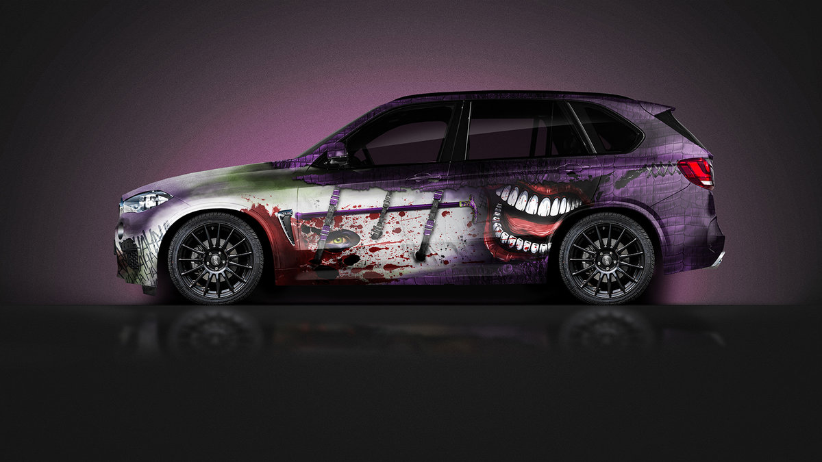 BMW X5 - Joker Design - img 1