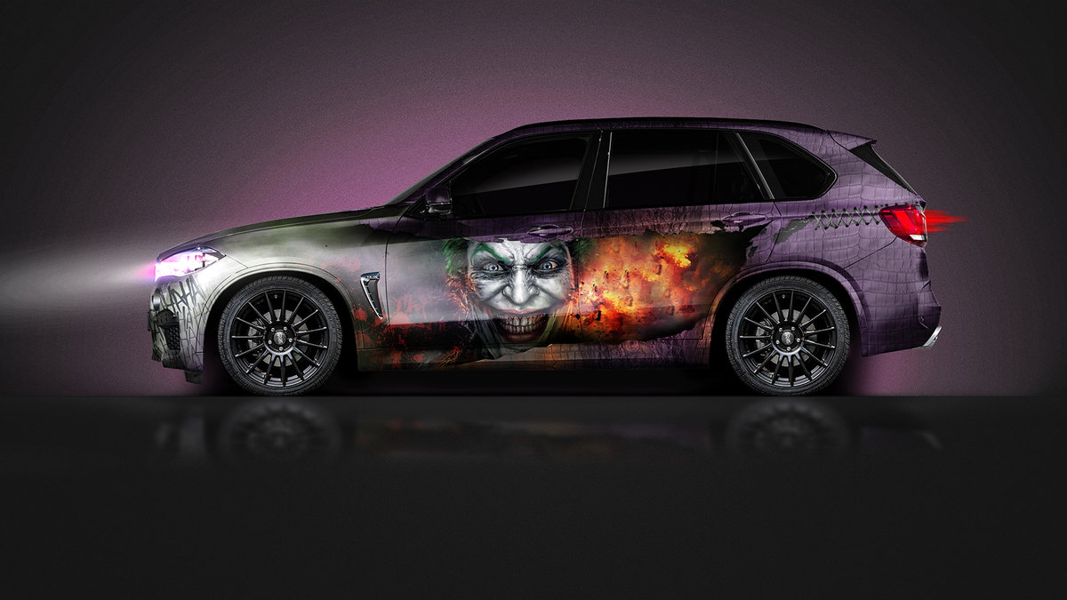 BMW X5 - Joker Design - cover
