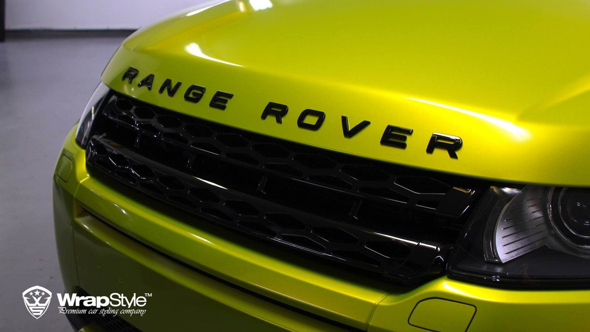 Range Rover Evoque - Lime Green wrap - img 3