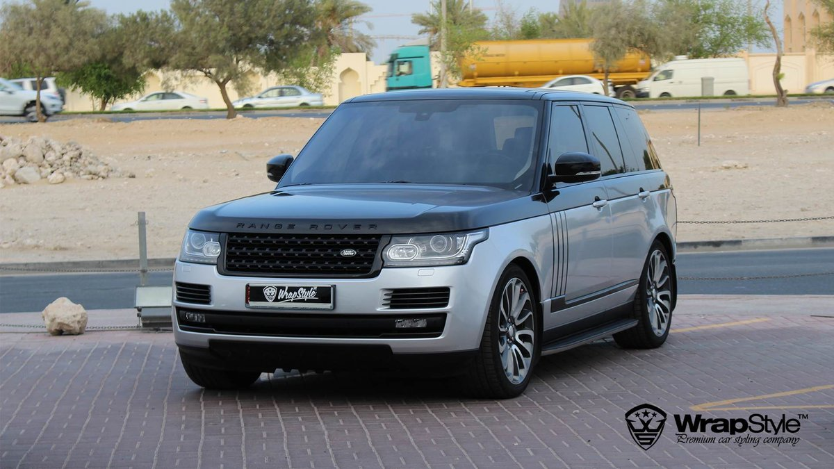 Range Rover Vogue - Black Metallic wrap - img 3
