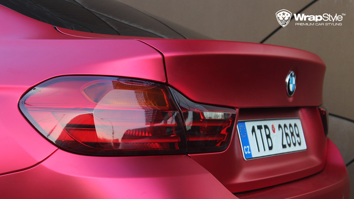 BMW 4 Grandcoupe - Red cherry chrome - img 2
