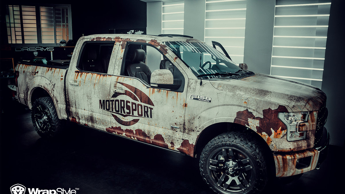 Ford 150 - Rusty design - img 2
