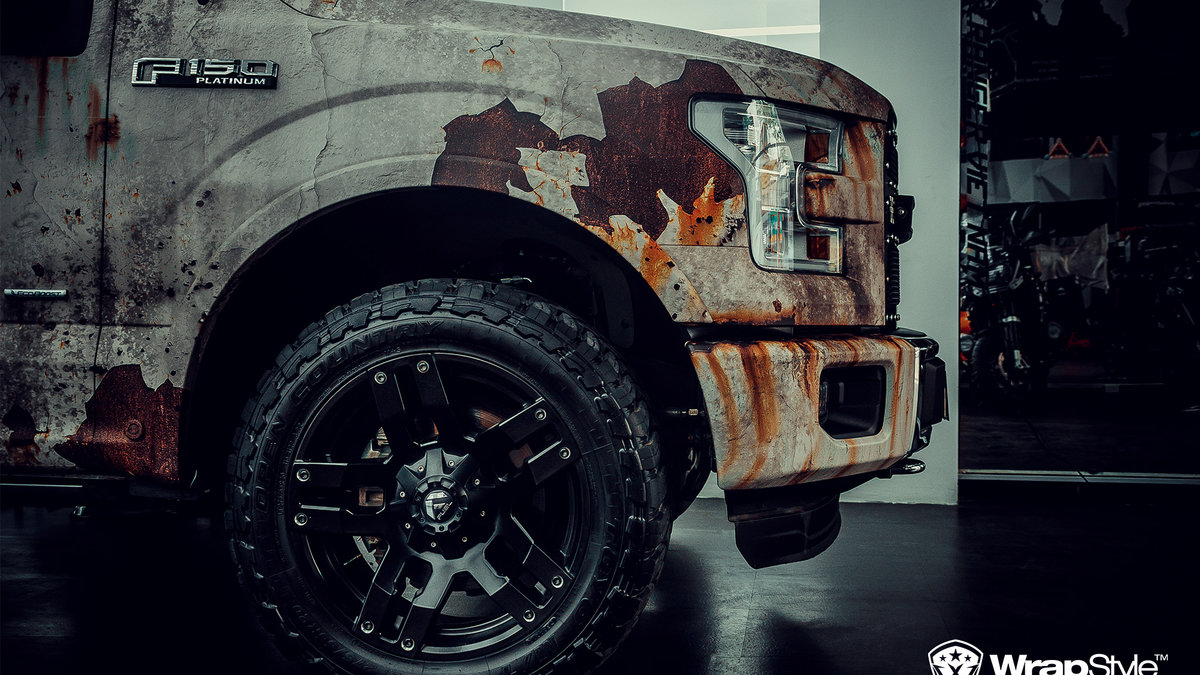 Ford 150 - Rusty design - img 1