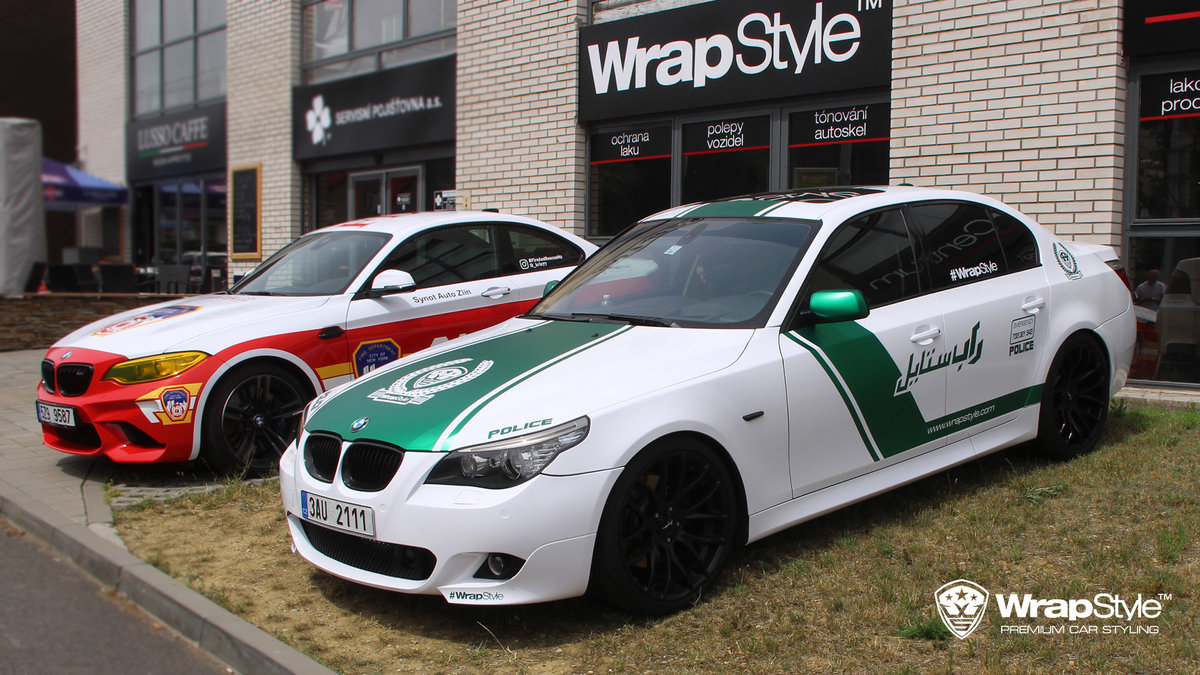 BMW M2 and BMW 5 - Fire department and Dubai police design - img 1