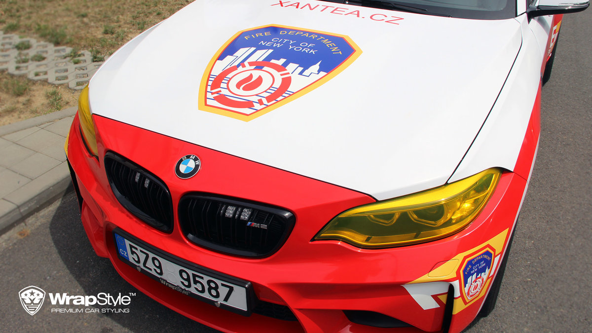 BMW M2 and BMW 5 - Fire department and Dubai police design - img 2