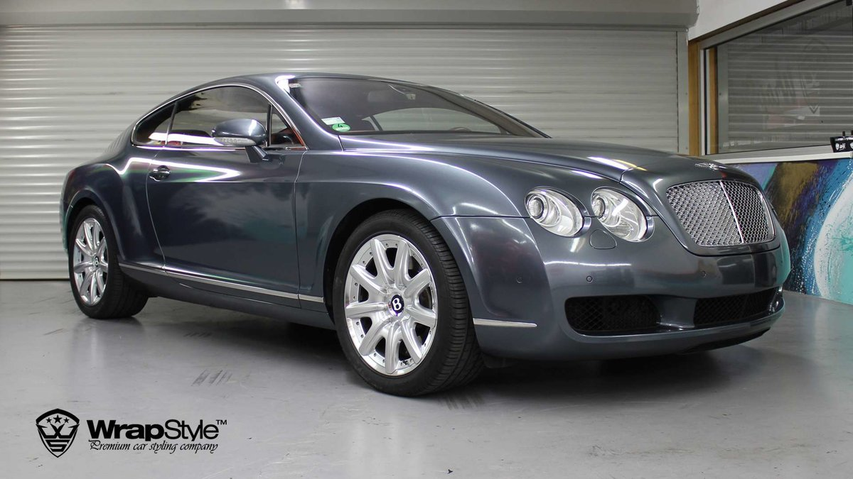 Bentley Continental - Thoundercloud Grey wrap - img 2