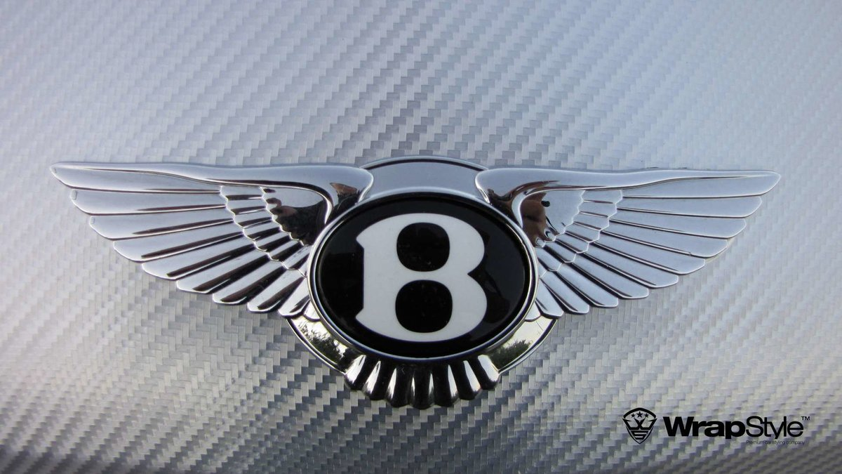 Bentley Continental - Silver Chrome Carbon wrap - img 1