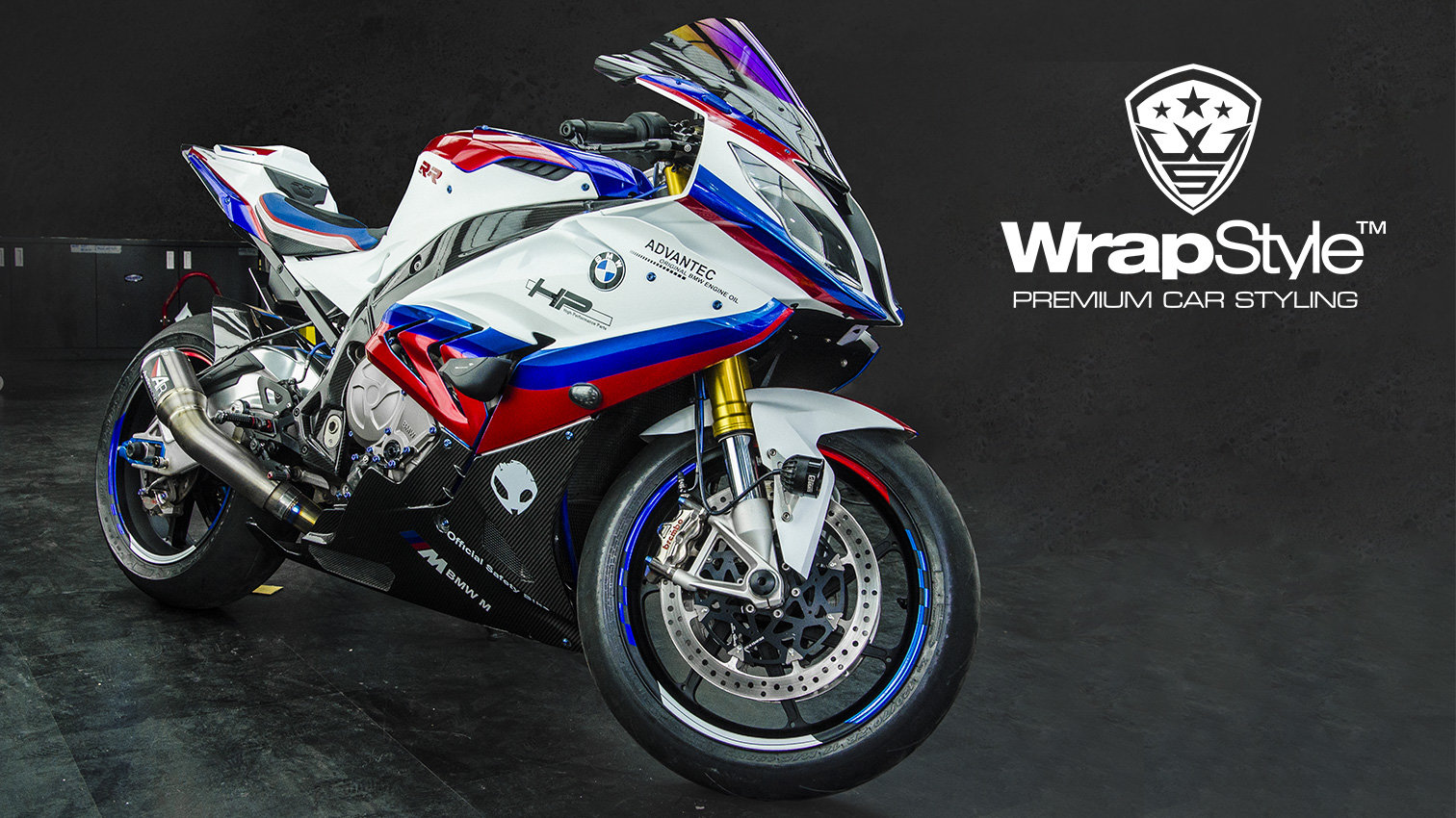 Bmw S1000rr Stripes Design Wrapstyle
