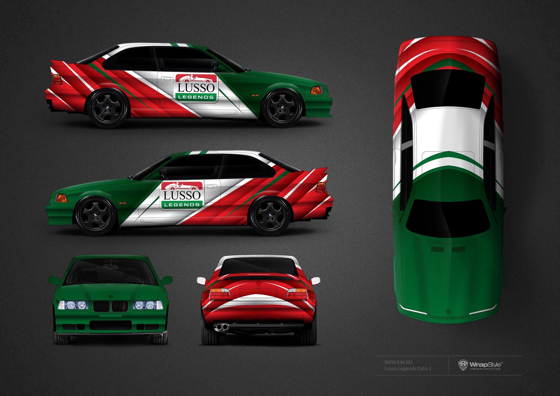 Bmw E46 M3 Lusso Legends Italia Design Wrapstyle