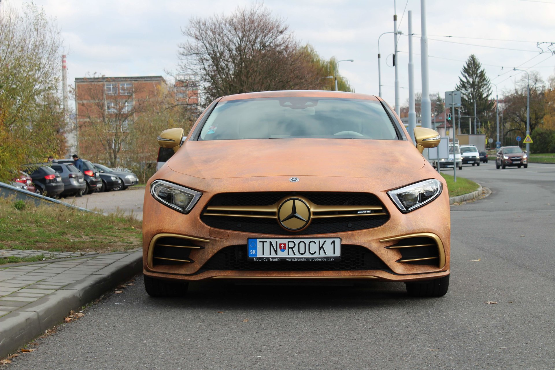 Mercedes CLS - Rusty wrap | Wrapstyle