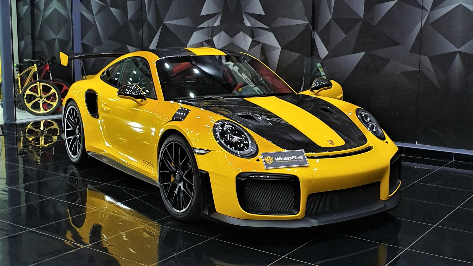 Porsche 911 Gt2 Rs Stripes Design Wrapstyle