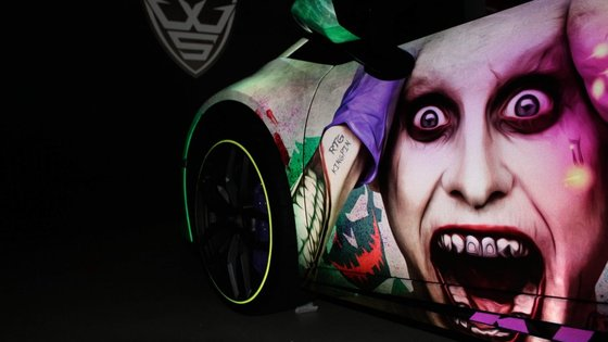 Joker &  Harley Quinn Wrap Design