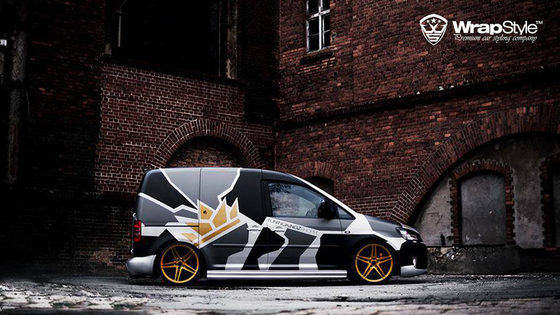 Volkswagen Caddy - Camo design - img 2 small