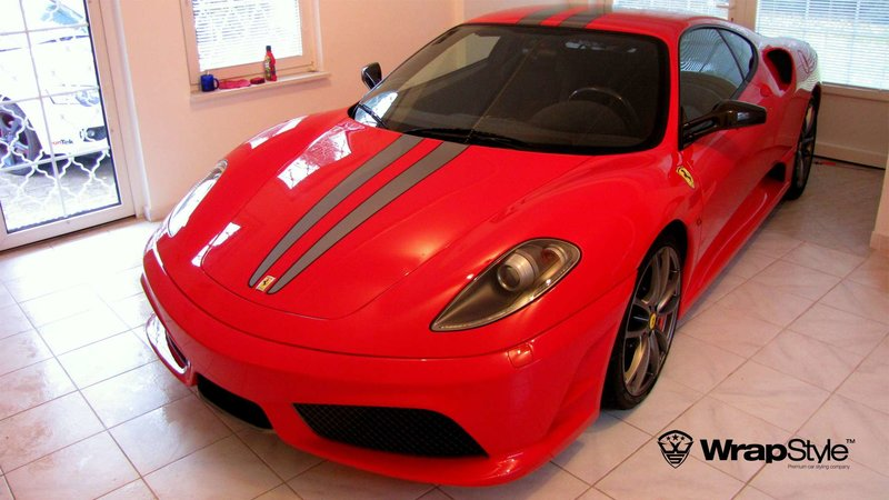 Ferrari Scuderia - Paint Protection - cover small