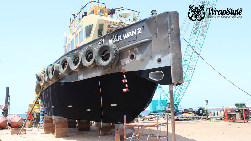 Marvan - Antifouling wrap