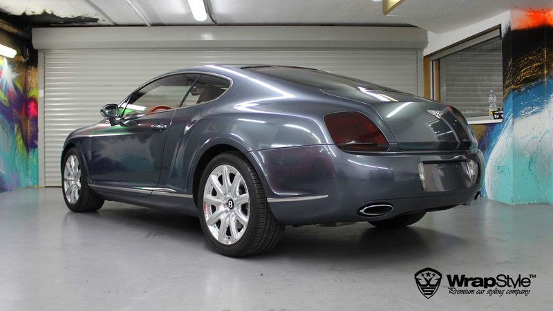Bentley Continental - Thoundercloud Grey wrap - cover small