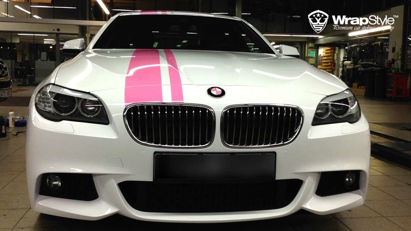 BMW 5 F10 Pink performance - cover small