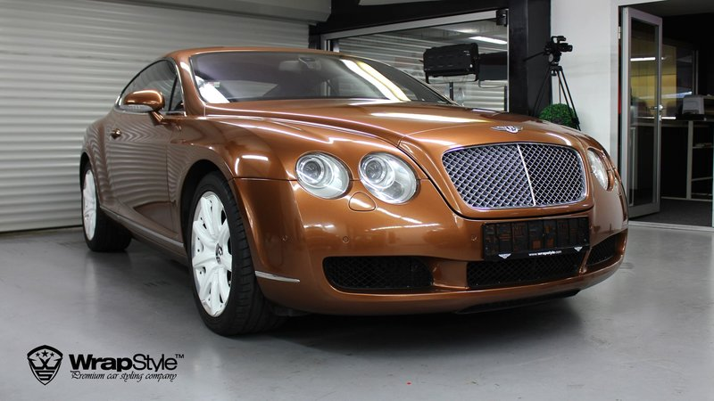 Bentley Continental bronze - cover small
