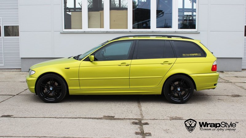 BMW 3 Lime green - cover small