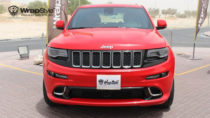 Jeep Grand Cherokee SRT carmine red gloss - cover small
