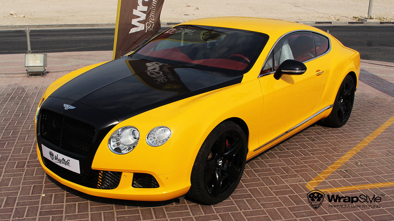 Bentley - Yellow Gloss - cover small