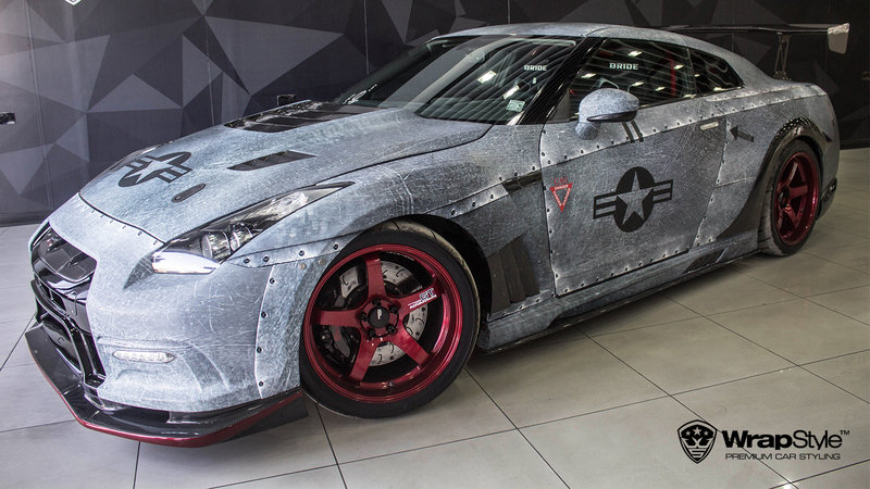Nissan GTR - Jet design - cover small