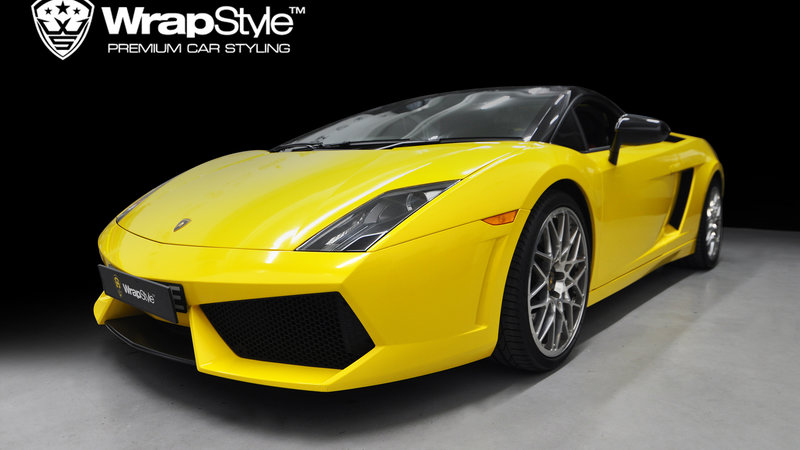 Lamborghini Gallardo - Gloss yellow - cover small