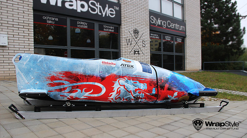 Bobsleigh Team - Czech design