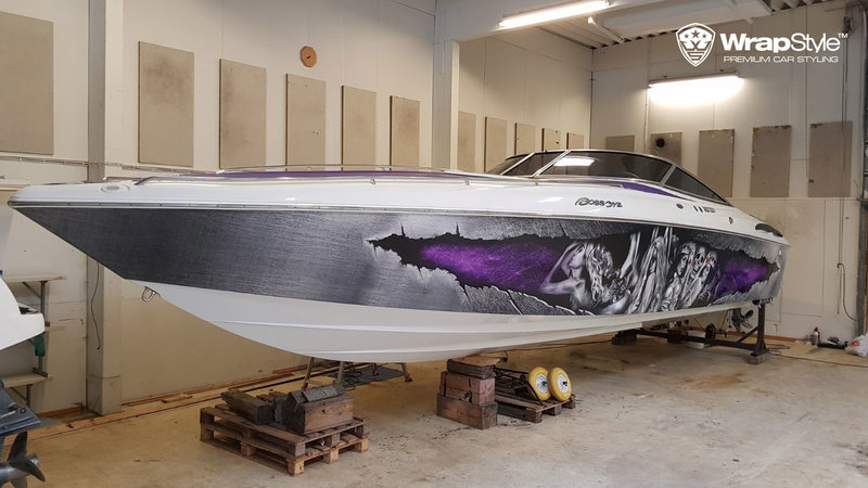 Baja 345 Boat -  Poker design
